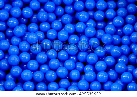 プラスチック カラフル 青 ボール 遊び場 ストックフォト © galitskaya