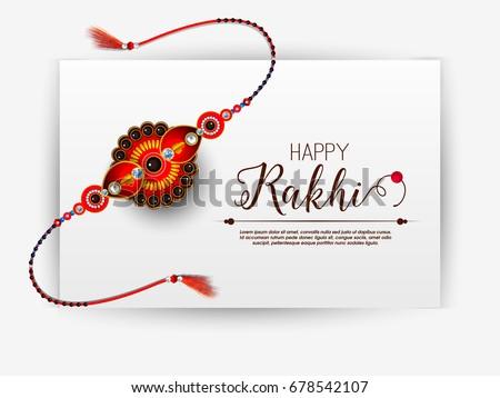 raksha bandhan discount banner design Stock photo © SArts