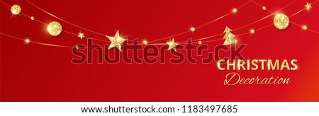 Рождества магия праздник красный Vintage Сток-фото © Anneleven