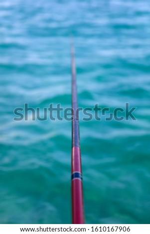 перспективы мнение удочка рыбы красивой Сток-фото © boggy