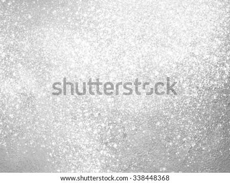 Glamorous white shiny glitter on black abstract background, Chri Stock photo © Anneleven