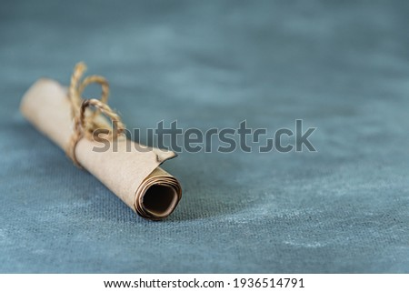 klasszikus · pergamen · kép · művészet · irat · grafikus - stock fotó © pashabo