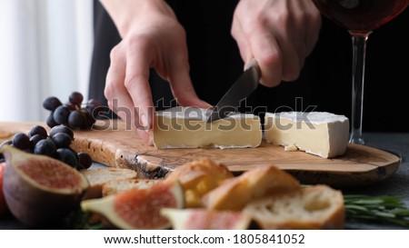 queijo · leite · fresco · creme · saudável - foto stock © m-studio