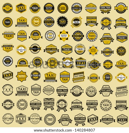 Taxi insignia, vintage style Stock photo © Ecelop