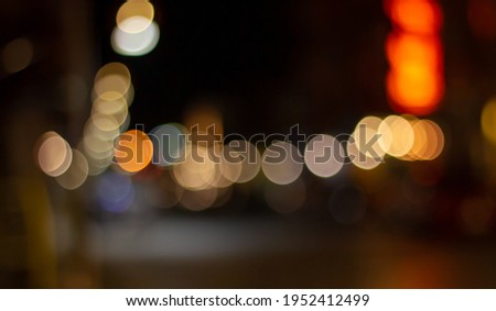 Cars moving traffic with brurred motion headlights on the tunnel Stock photo © lunamarina