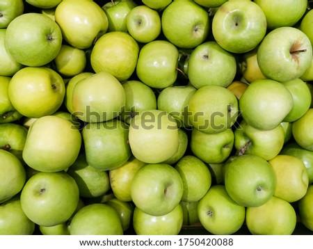 green apple granny smith fresh food fruit produce orchard agricu stock photo © cboswell