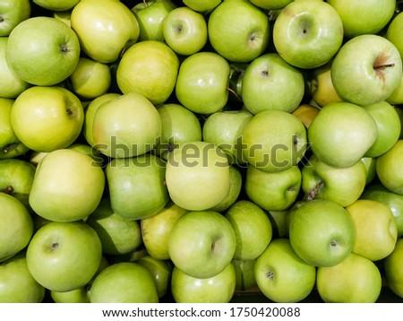 Grünen Apfel Oma frische Lebensmittel Obst produzieren Stock foto © cboswell
