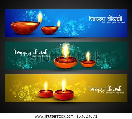 Gelukkig diwali religieuze stijlvol kleurrijk drie Stockfoto © bharat