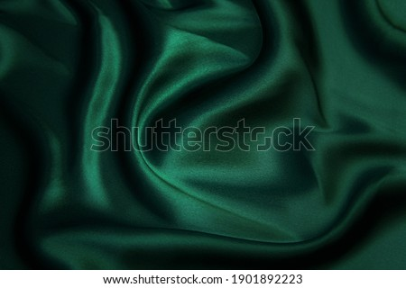 Green silk Stock photo © sailorr