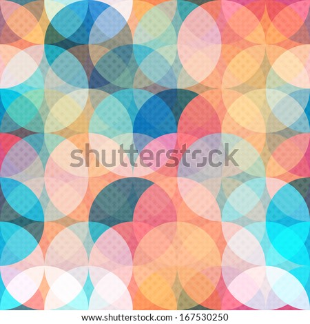Sem costura geométrico círculo arco-íris colorido padrão Foto stock © bharat