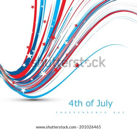 Amerykański dzień fantastyczny banderą drutu Zdjęcia stock © bharat