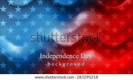 Amerikaanse · vlag · dag · viering · golf · vector · achtergrond - stockfoto © bharat