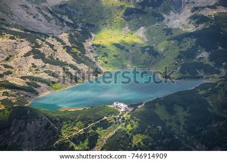 Ver cinco vale natureza paisagem Foto stock © pixelman