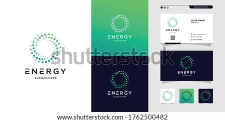 ökológia ötletek logotípus vektor logo sablon Stock fotó © ConceptCafe