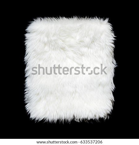 Сток-фото: роскошь · белый · шуба · текстуры · искусственный · ткань