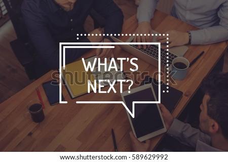 whats next Stock photo © jayfish