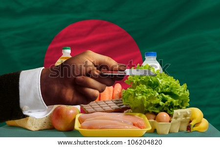 Buying Groceries With Credit Card In Bangladesh Foto stock © vepar5