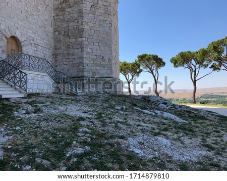Castel del Monte, Unesco heritage in the south of Italy, Apulia  Stock photo © meinzahn