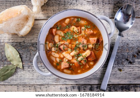Stewed meat with vegetable Stock photo © fanfo