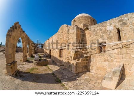 Panagia Katholiki Church. Kouklia village, Paphos District. Cypr Stock photo © Kirill_M