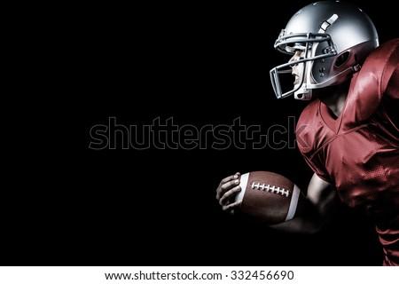 americano · bola · preto · retrato - foto stock © wavebreak_media
