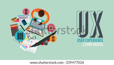 ユーザー · 経験 · いたずら書き · デザイン · スタイル · ソリューション - ストックフォト © davidarts