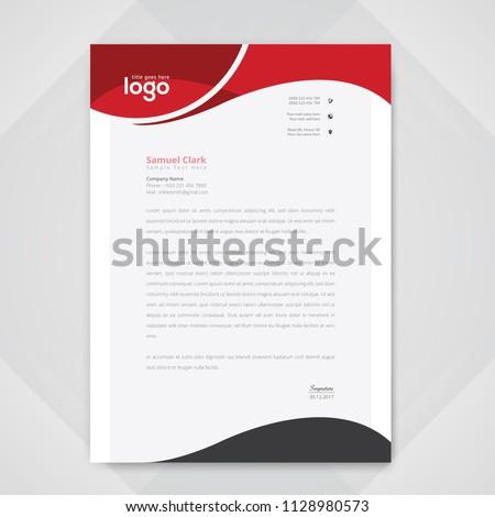 Eleganten Briefkopf Design-Vorlage blau grau geometrischen Stock foto © SArts