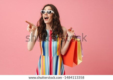 Shopping for pleasure. Stock photo © Fisher