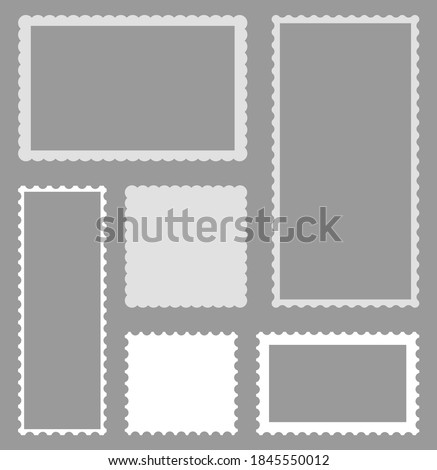 A scallop blank template Stock photo © bluering