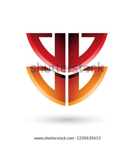 vektor · luxus · monogram · design · sablon · elegáns · keret - stock fotó © cidepix