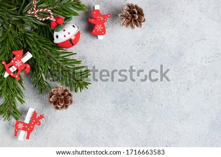 エレガントな グレー クリスマス シーン 自然 木材 ストックフォト © neirfy
