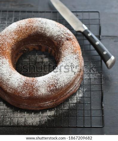 тыква Spice торт Ломтики коричневого сахара Сток-фото © StephanieFrey