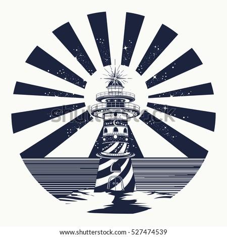 Morski stylu vintage wydruku projekty tshirt Zdjęcia stock © JeksonGraphics