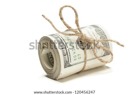 rollen · een · honderd · jute · string - stockfoto © feverpitch