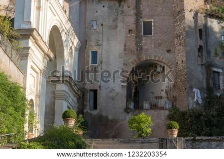 Villa ünlü Roma İtalyan bahçe Stok fotoğraf © Zhukow