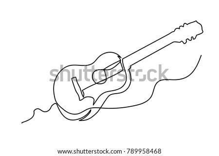 эскиз гитаре изолированный белый рок Сток-фото © Arkadivna