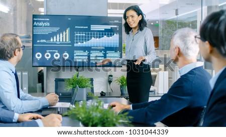 gyönyörű · üzletasszonyok · lövés · kettő · iroda · üzlet - stock fotó © aremafoto