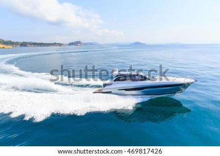 acelerar · barco · mar · tropical · esportes · montanha - foto stock © witthaya