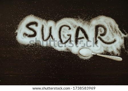 Parola diabete manoscritto bianco gesso lavagna Foto d'archivio © nenovbrothers