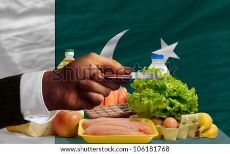 Buying Groceries With Credit Card In Pakistan Foto stock © vepar5