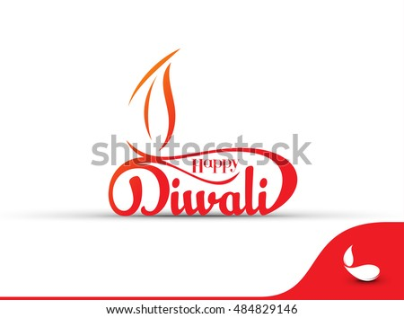 beautiful decoration happy diwali diya shiny crackers colorful b stock photo © bharat