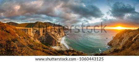mare · rupe · ponte · sunrise · Ocean · fuori - foto d'archivio © meinzahn