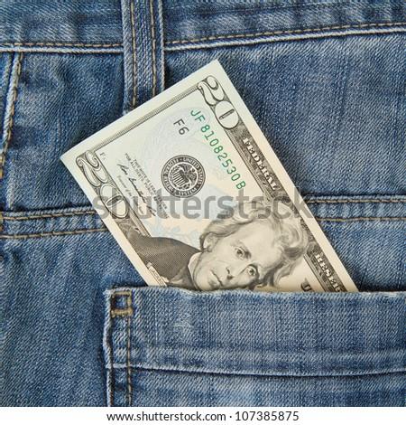 Macro shot modieus jeans amerikaanse 20 Stockfoto © michaklootwijk