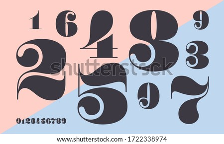 Letters and numbers stock photo © dmitroza