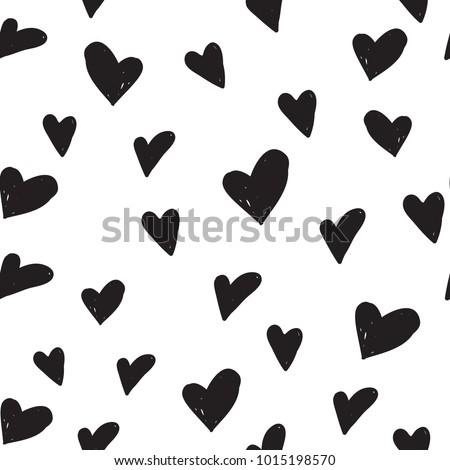 Kalpler karikatür vektör elemanları ince Stok fotoğraf © Loud-Mango