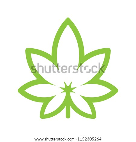 Cannabis Background. Marijuana Ganja Weed Hemp Leafs Seamless Vector Pattern. stock photo © pikepicture