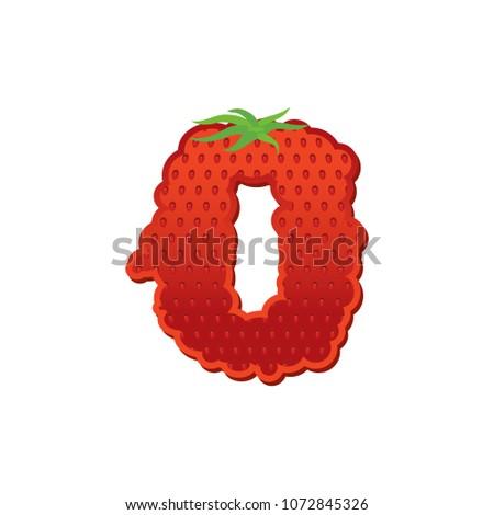 heldere · rijp · aardbei · aardbeien · Rood - stockfoto © popaukropa