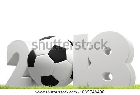 Símbolo blanco fútbol fútbol pelota cartas Foto stock © Wetzkaz