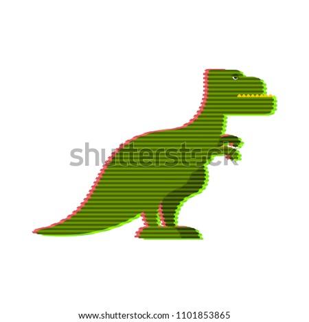 Dinozaur fantastyczny technologii przyszłości ramki korporacyjnych Zdjęcia stock © popaukropa