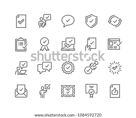 Check icon. Approved symbol. Ok icon. Check button sign. Tick icon. Checkpoint. style sign for mobil Stock photo © kyryloff